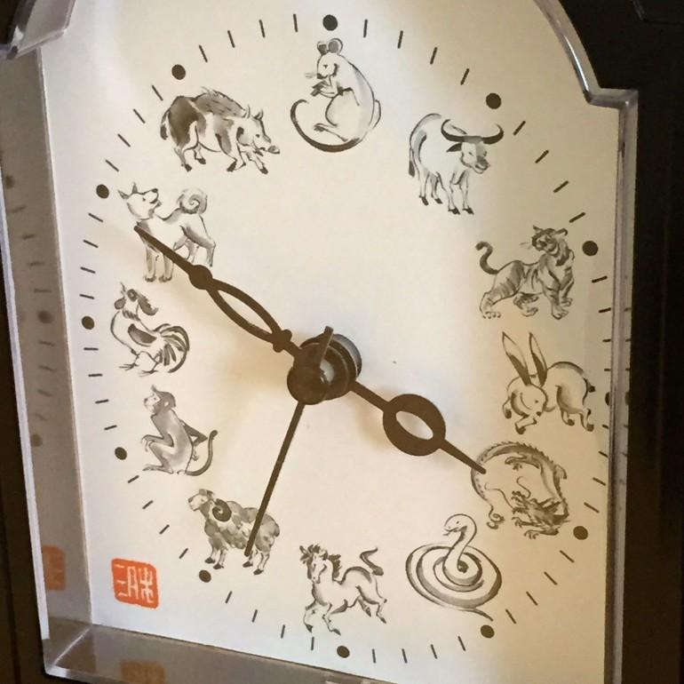 干支の時計
