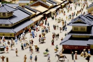 江戸の街並みイメージ