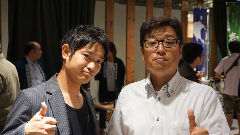 上村氏(左)・池上氏(右)